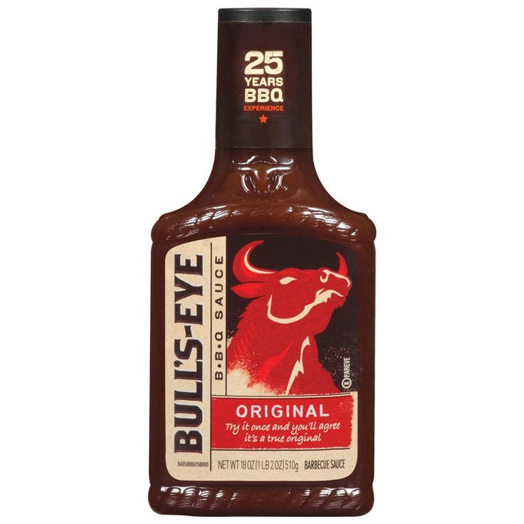 Bull's-Eye Original Barbecue Sauce 18oz