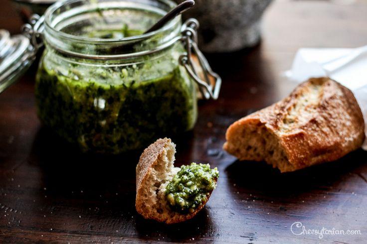 Basil Pesto with Parmesan: 6 Ingredient Timeless Classic
