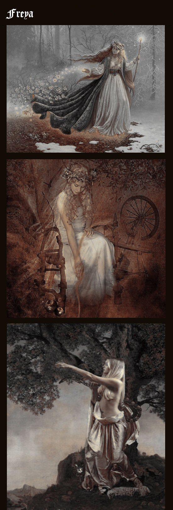 les 751 meilleures images du tableau freya sur pinterest mythologie nordique d esses et des. Black Bedroom Furniture Sets. Home Design Ideas