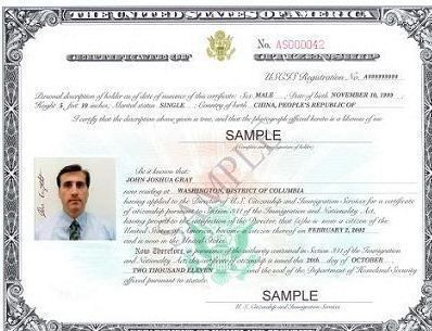 The N-600 form is the application for Certificate of Citizenship it is filed by an individual to claim U.S. citizenship either by action of law while in the U.S. or born outside of the United States to U.S. citizen parent(s) who would like to document their U.S. citizenship status based on U.S. citizen parentage.