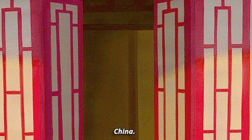 Too funny!!!! I can totally imagine China responding!!!! Gif. •Hetalia•