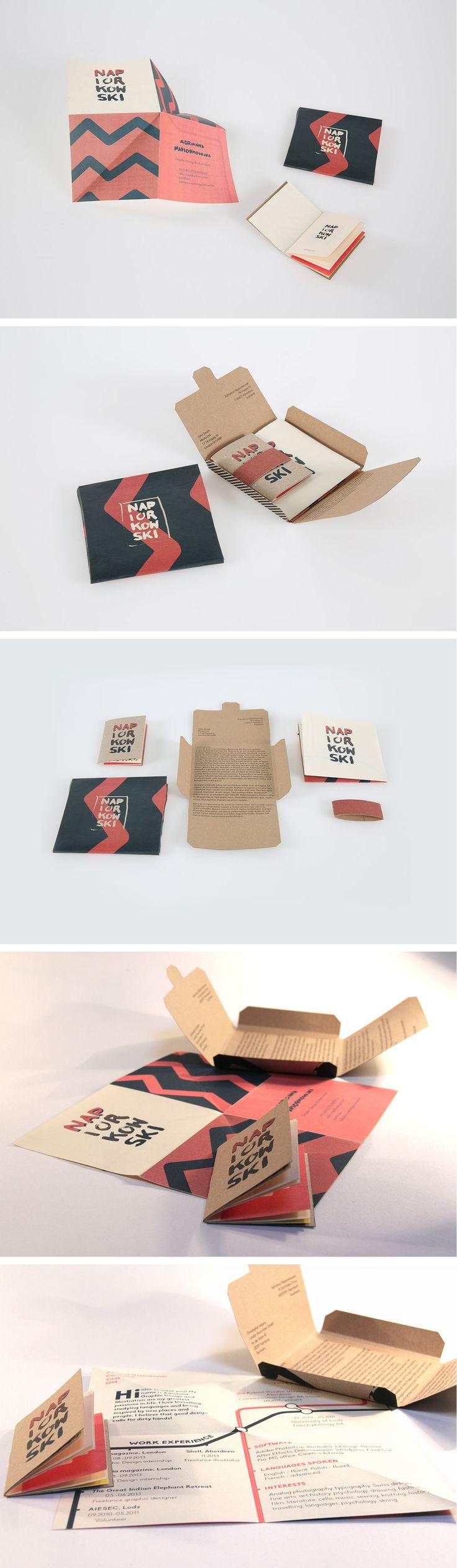 Self Promotion Pack by Adrianna Napiorkowski - #selfpromotion #portfolio