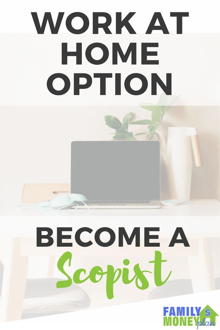 Earn Money From Home What is a scopist? If you are looking for a good way to work from home and love words, scoping might be your ideal option. Learn about this great way to earn money from home. | Work at Home | Scoping | Scopist | Make Money | You may have signed up to take paid surveys in the past and didn't make any money because you didn't know the correct way to get started!