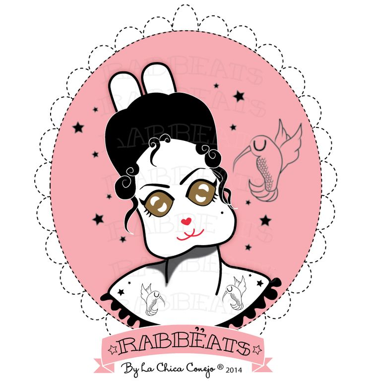 You can order a Special Character YES!!   XXI Century Rabbëat Girl* Rabbëats by La Chica Conejo ® All Rights Reserved. #Special #Order DONE!! #specialcharacter #camafeos #cameos #rings #tshirts #personajes #anillos #totebags #rabbeatsbylachicaconejo