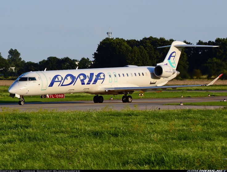 Bombardier CRJ-900 NG (CL-600-2D24) - Adria Airways | Aviation Photo #4556141 | Airliners.net