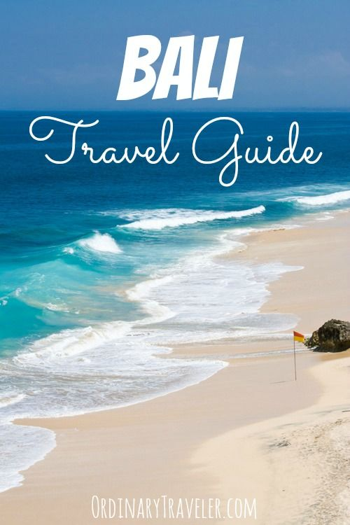 Travel tips for Bali, Indonesia