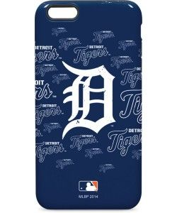 Detroit Tigers - Cap Logo Blast iPhone Cases