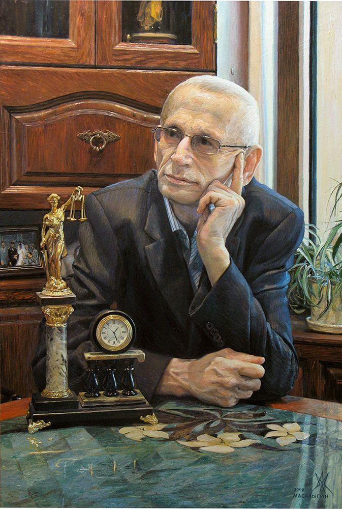 Ivan Teodorovich. Portrait.
