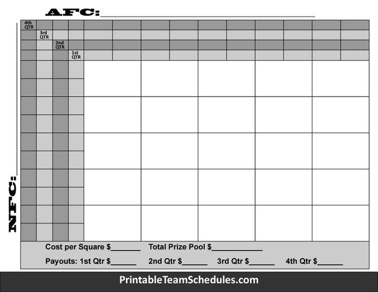 football squares grid