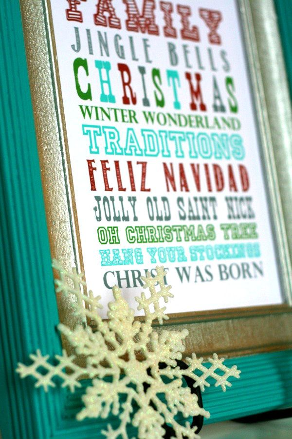 Subway art Christmas Printable- TodaysCreativeBlog.net