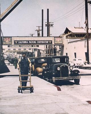 Cannery Row c. 1920..still looks the same!