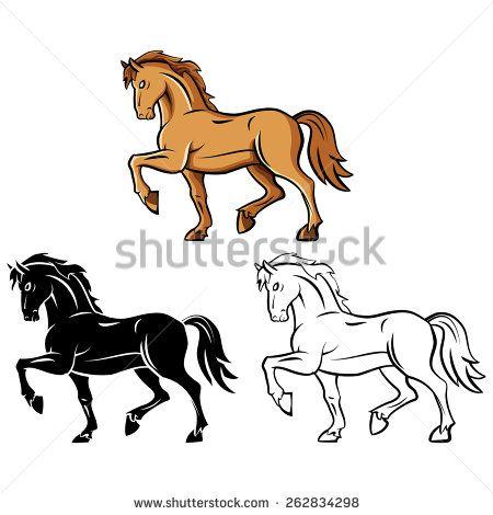 Horse-draw Vektory a vektorové kliparty | Shutterstock