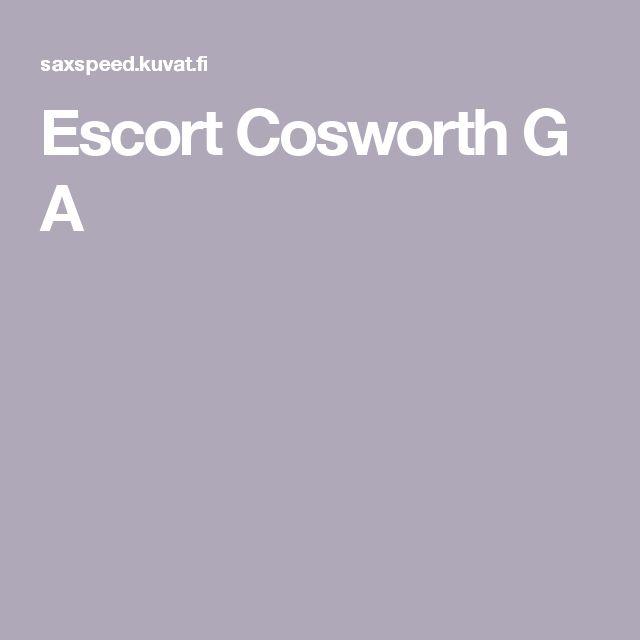 Escort Cosworth G A
