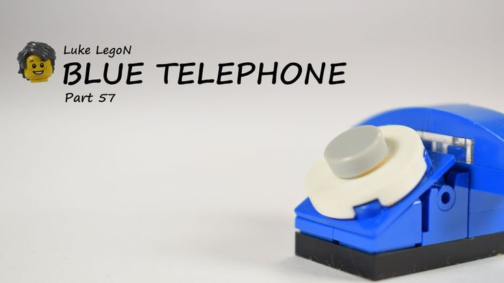 LEGO Blue Telephone