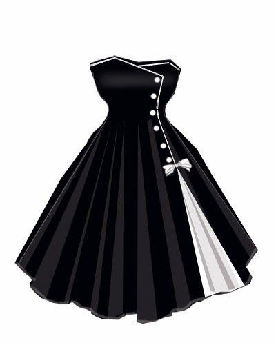 vestido preto e branco rodado                                                                                                                                                                                 Mais