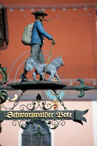 Schwarzwälder Bote, Newspaper [Black Forest Messenger], in Rottweil, Germany. by safaribears