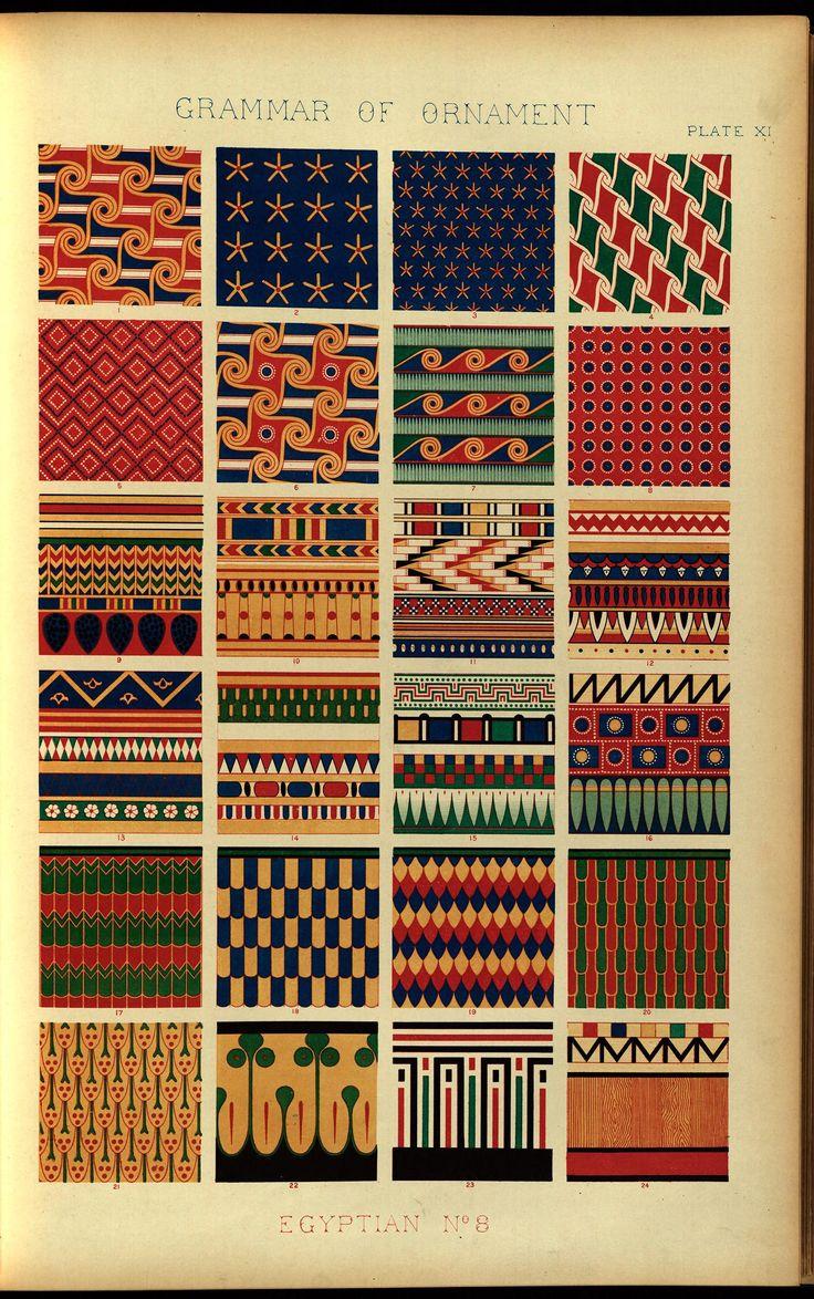 120 best The Grammar of Ornament by Owen Jones images on Pinterest ...