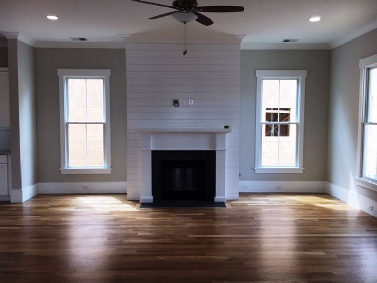 4 bed, 3.5 bath home by Saussy Burbank for sale at Carolina Park in Mount Pleasant, SC.   Love the shiplap mantel.