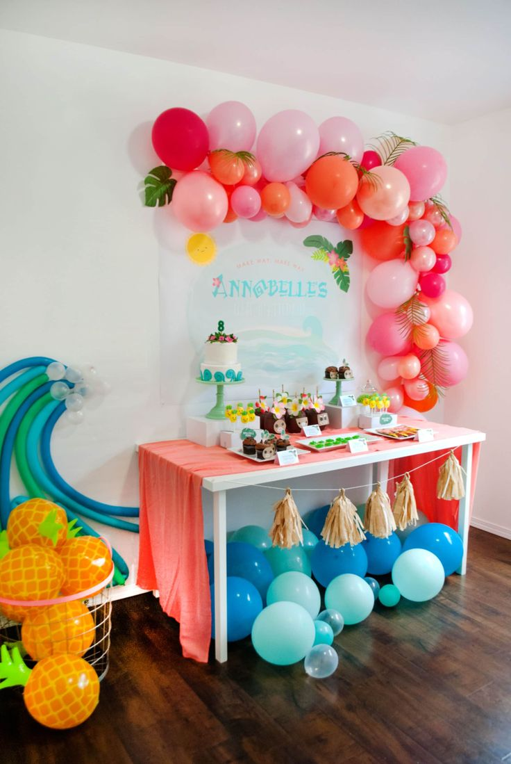 """You're Welcome"" (in advance) for these Moana Birthday Party Ideas - Project Nursery"