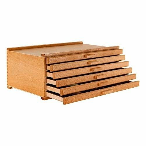 U S Art Supply 6 Drawer Wood Artist Supply Storage Box Pastels Pencils Pens Affilink Artsupply Artist Supplies Storage Artist Storage Art Supplies Storage