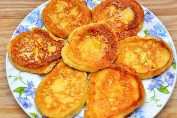 Syrniki are sweet fried cheese fritters or pancakes, garnished with sour cream, jam, honey, or applesauce. In Russia they are also known as творо́жники. With the right supplies and a little time in the kitchen, you'll be making these delici...