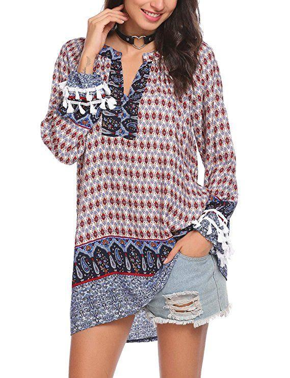 Shirt Dress Summer Top Bohemian Dress Hippie Dress Plus Size Shirt White Tunic Top Girls Tunic Women Kurtis,Boho Dress Women Dress