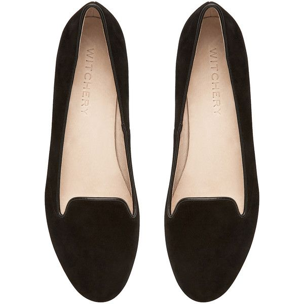 Witchery Jewelled Loafer (€71) found on Polyvore featuring shoes, loafers, flats, sapatos, black, small heel shoes, black shoes, jeweled flats, embellished flats and low heel flats (MARCH 2015 !!!)