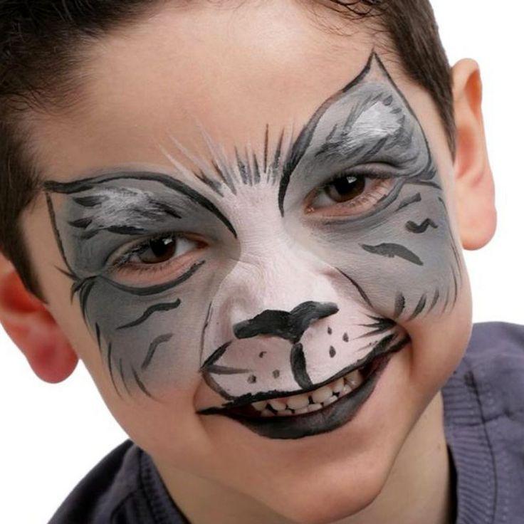 Аквагрим Волк - Аквагрим для детей и взрослых