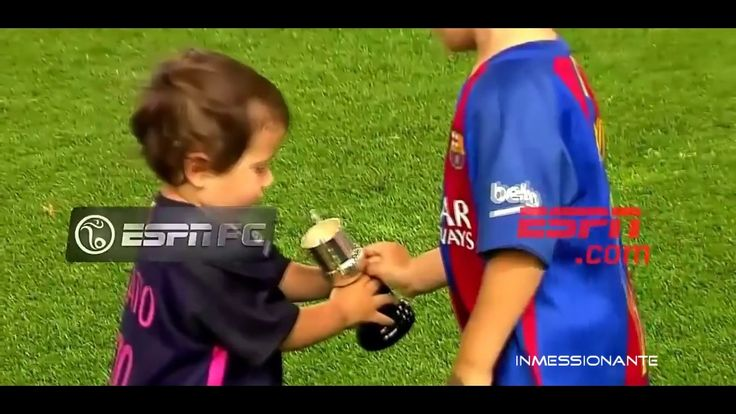 Thiago & Mateo Messi Celebrating Copa Del Rey Win ● FUNNY