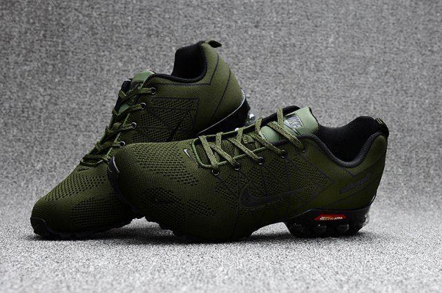 07f101aee6c Nike Air Ultra Max 2018. 5 Shox Olive Green Black Mens Running Shoes ...