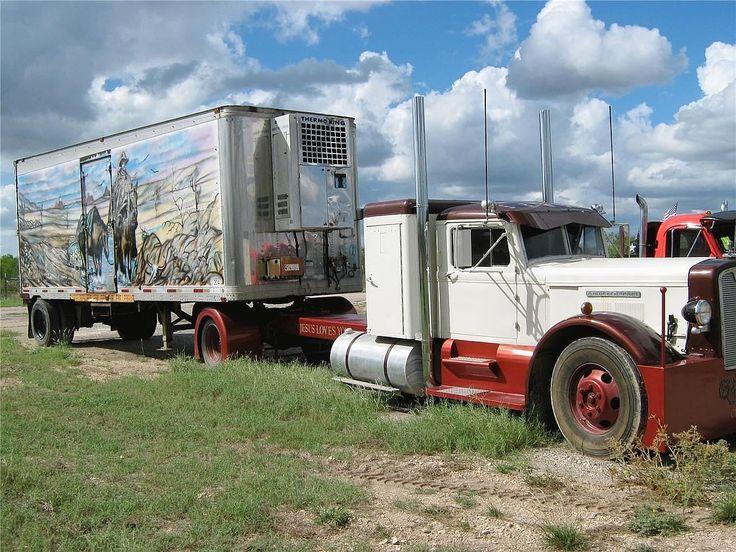 ... Trucks w/ Sleeper: 1948 Autocar, Big Rigs, Semi Trucks, Classic Trucks