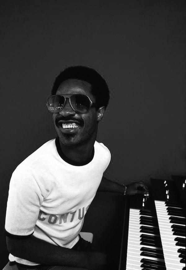 Stevie Wonder - Portrait the Artists: http://www.pinterest.com/pinbyart/music-artists                                                                                                                                                                                 More