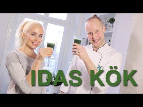 IDAS KÖK - recept på en grön nyttg smoothie
