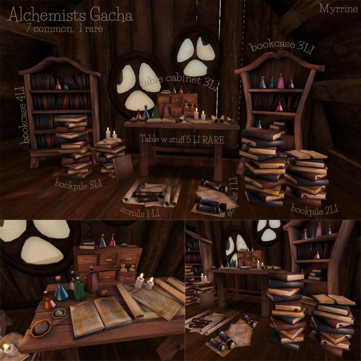 Alchemist gacha