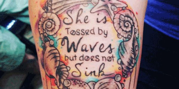 18 Best Ocean Quotes for Tattoos
