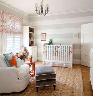 love the colors: Nurseries, Color, Kids Room, Nursery Ideas, Striped Walls, Baby Room, Stripes, Boy, Rooms