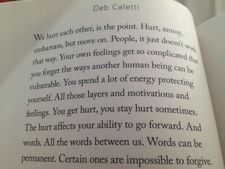Deb Caletti, The Story Of Us