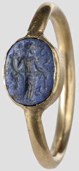 Roman gold ring 1st century A.D.
