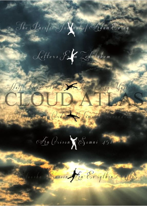 Cloud Atlas...I've got to see this .