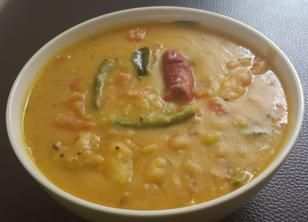 Tomato Dal-tomato pappu-(Lentils)-tomato dal -Andhra tomato pappu