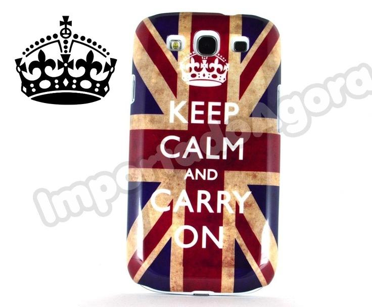 Capa Rígida - Keep Calm Samsung Galaxy S3 i9300 - Para mais informações clique na imagem :)