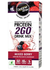 Designer Whey Protein 2go Pak - Mixed Berry | Vitamin Shoppe