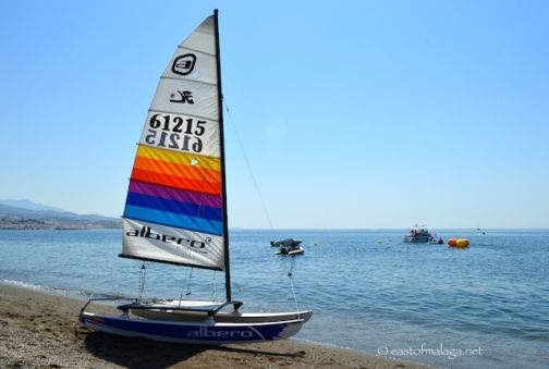 A sailing weekend at Torre del Mar, Spain