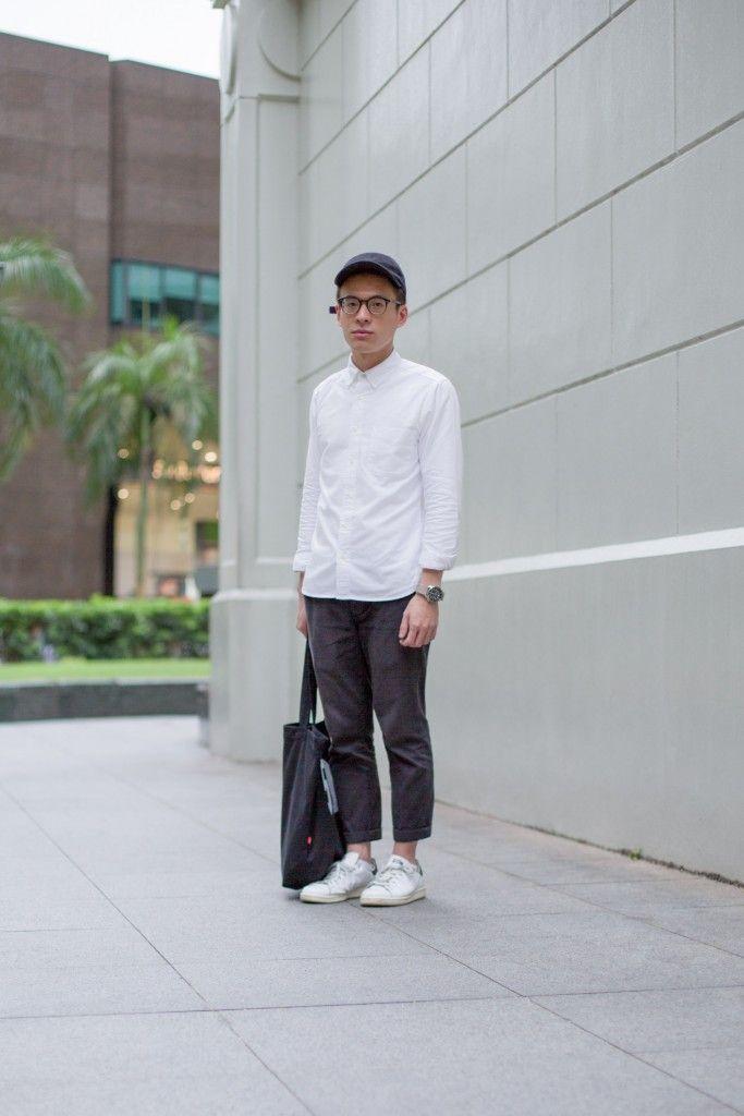 SHENTONISTA: Substance. Nicol, Student. Top from MUJI, Watch from Seiko, Bag from Levi's, Glasses from Yellow Plus. #shentonista #theuniform #singapore #fashion #streetystyle #style #ootd #sgootd #ootdsg #wiwt #popular #people #male #female #womenswear #menswear #sgstyle #cbd #MUJI #Seiko #Levis #YellowPlus