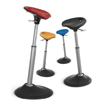 leaning stool for any standing desk back to school in 2019 desk stand up desk home office. Black Bedroom Furniture Sets. Home Design Ideas