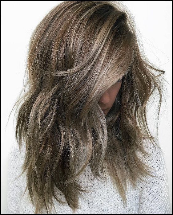 10 Mittellanges Haarfarbe Himmel – Beige – Brown – Blonde & Grey Blends   – BobFrisuren