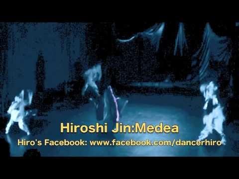 """Hiro's """"Medea"""" in NY 2007/神ひろしの「王女メディア』2"""