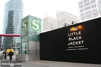 The Little Black Jacket exhibition