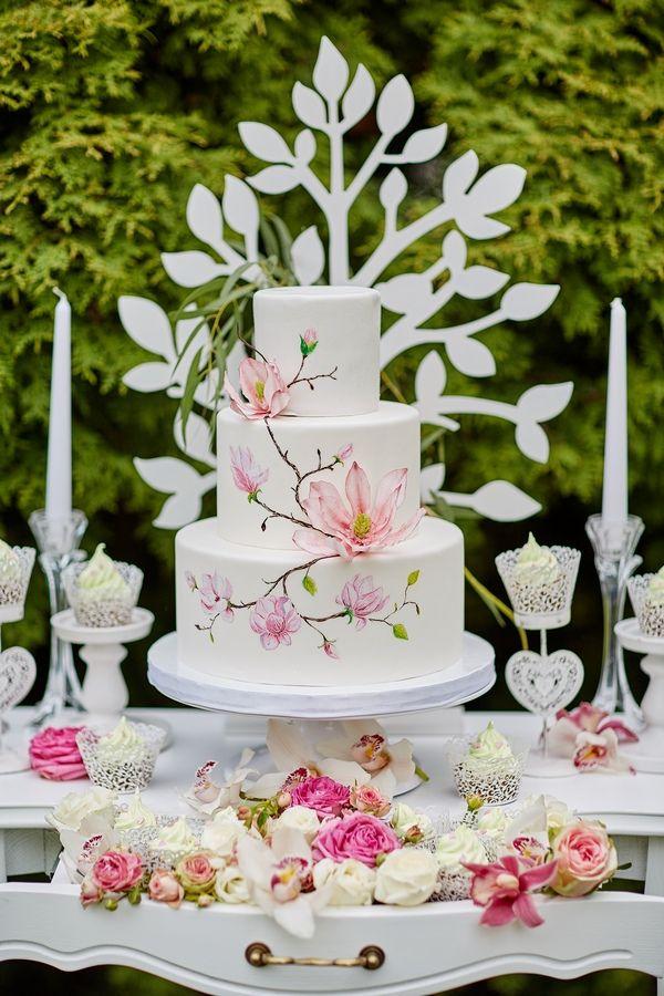 #cake #weddingcake #wedding #Poland #flower