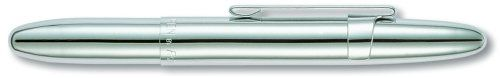 Fisher Space Bullet Space Pen with Clip, Chrome, Gift Boxed (400CL) Fisher Space Pen http://www.amazon.com/dp/B000WGDFPY/ref=cm_sw_r_pi_dp_Cubaub07N47RD I want one